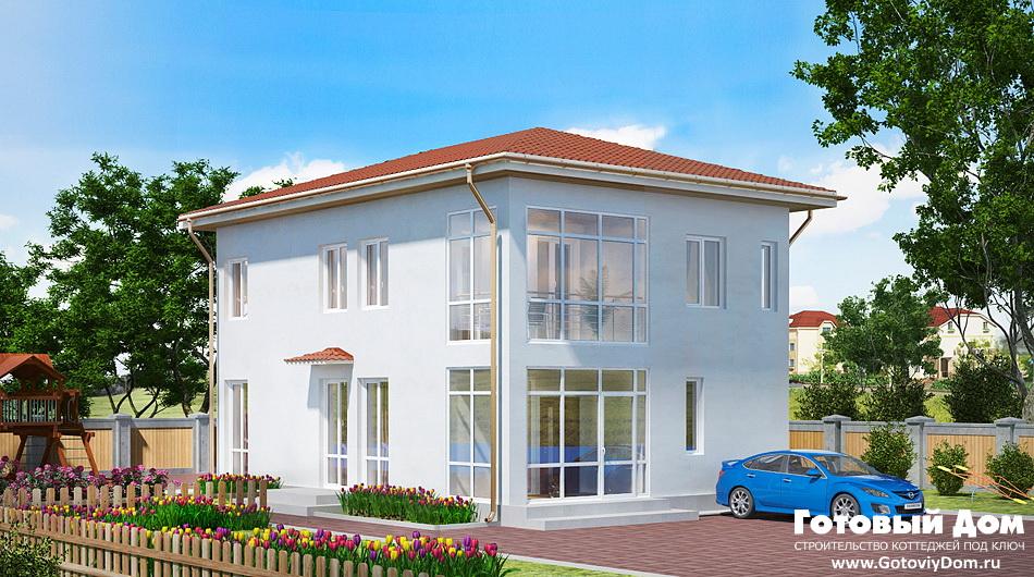 Строительство коттеджей под ключ, цены и проекты